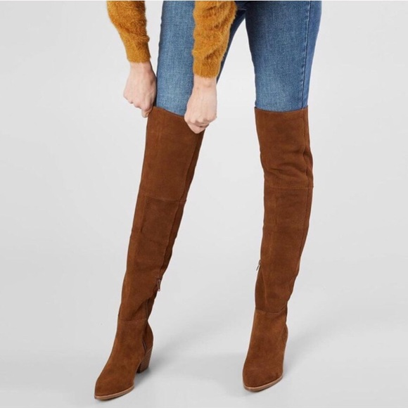 Steve Madden Lucca Suede Over The Knee